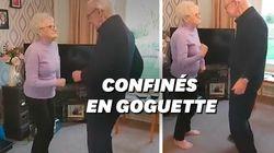 La vidéo de ce couple âgé dansant sur