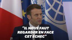 Au One Planet Summit, Macron reconnaît l'échec de la communauté