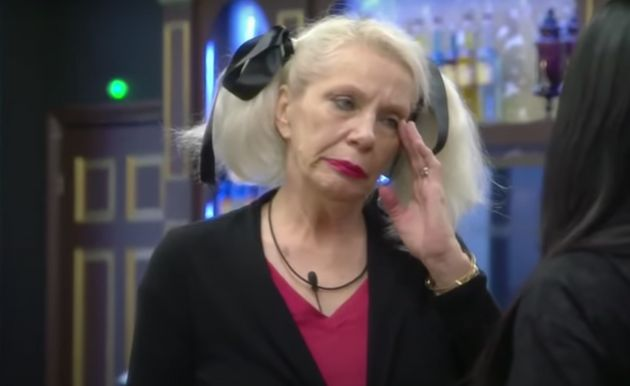 Angie Bowie in the Celebrity Big Brother