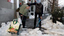 El mapa de la nieve en Madrid: consulta qué calles ya han sido despejadas (o eso dice el