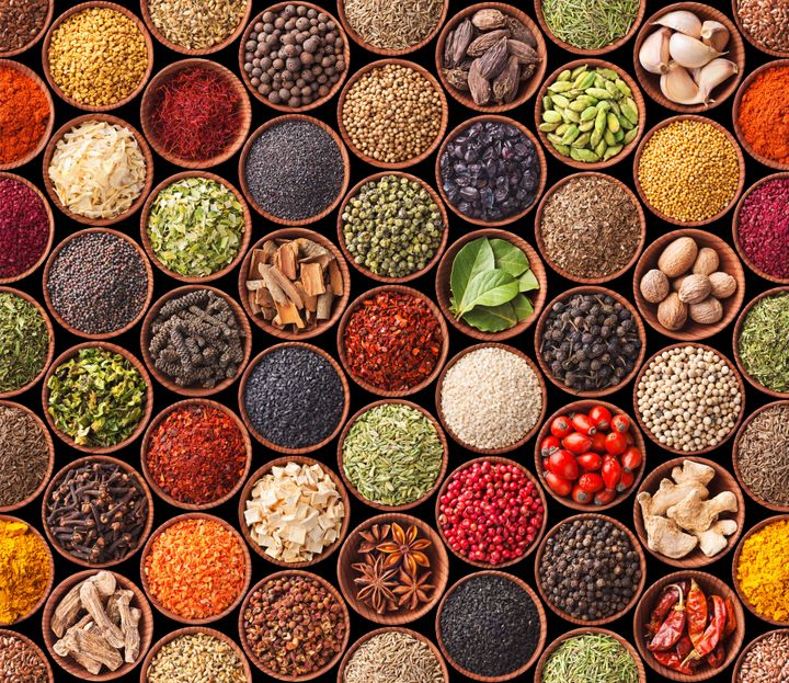 "Herbs and spices are considered to be full of ""life force"" in ayurveda."