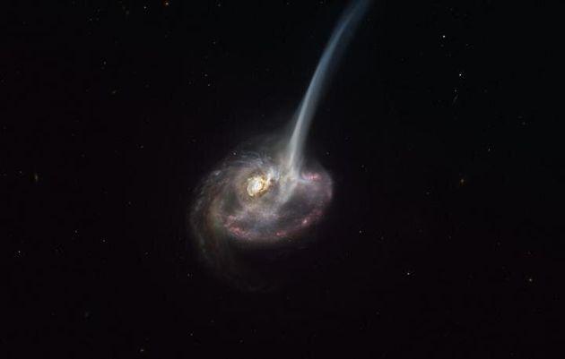 """""""Una galassia muore quando non può più formare stelle"""": processo catturato per la prima volta"""