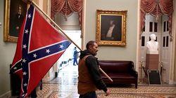 ΗΠΑ: Καταζητείται ο άνδρας με την σημαία της «Συνομοσπονδίας» στα επεισόδια του