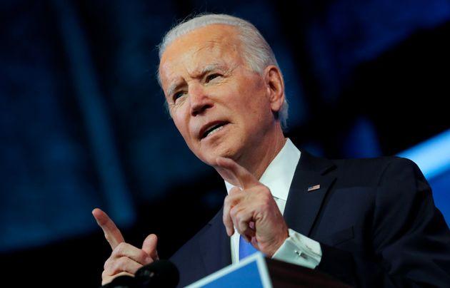 Joe Biden, ici photographié le 14 décembre dernier, aura la lourde tache de raviver et...