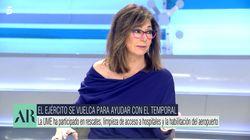 Ana Rosa Quintana, sin miramientos contra un líder político: