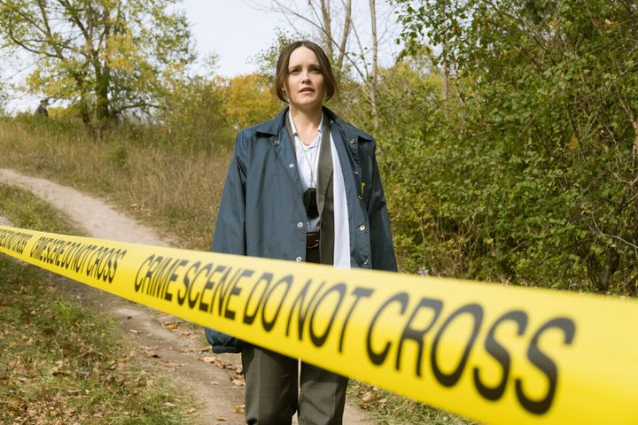 "Rebecca Breeds as FBI agent Clarice Starling in CBS's ""Clarice."""