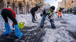 España se congela: los peligros del hielo y de vivir a