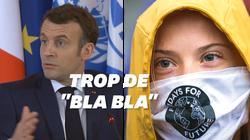Greta Thunberg offre son résumé du One Planet Summit, Macron lui
