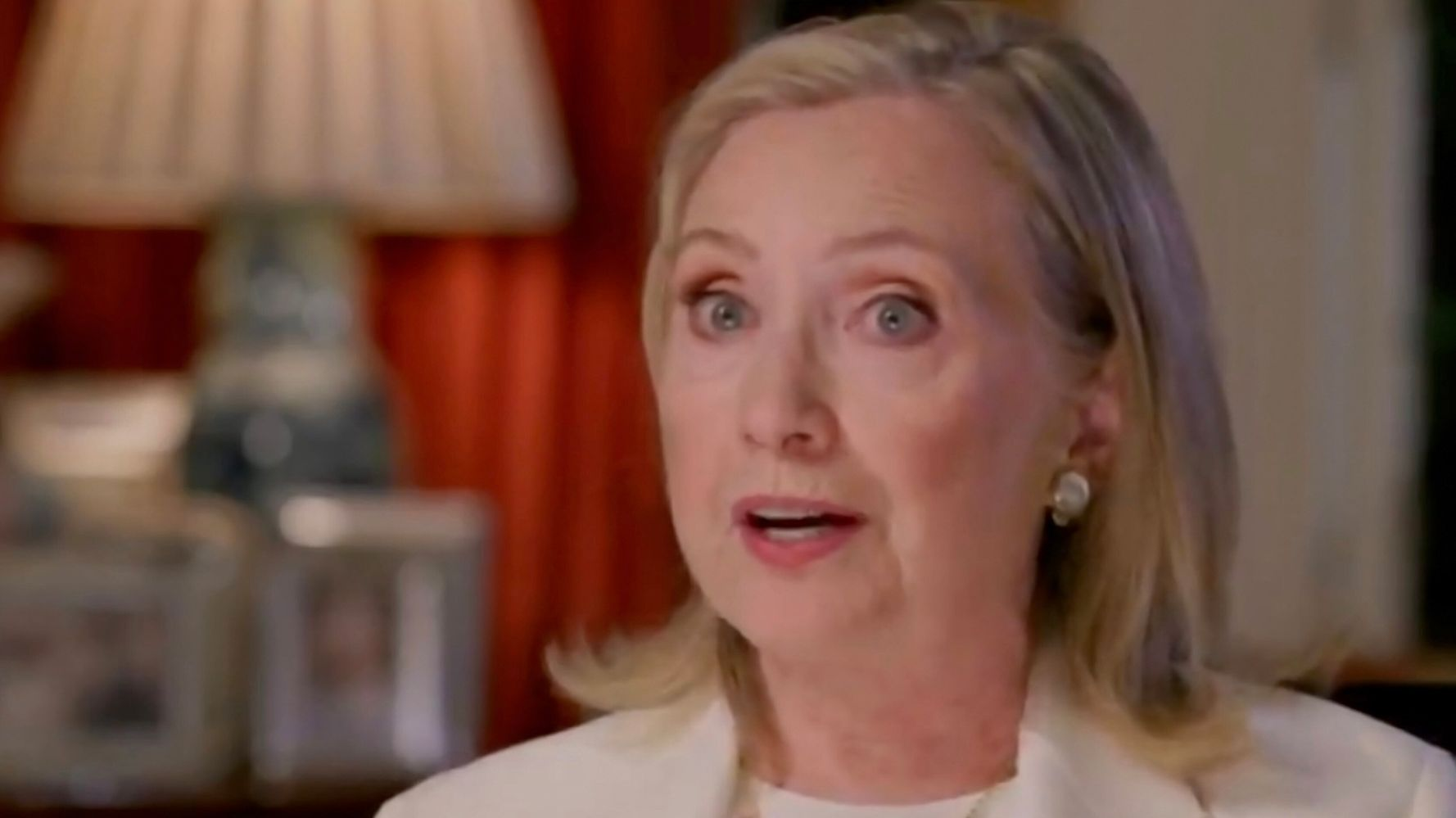Hillary Clinton Backs Impeaching Trump, Calls For Harsher Action On Extremists