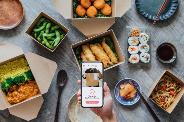 If you order from Shipt, Grubhub, Instacart or DoorDash, none of those apps require customers to leave a tip.