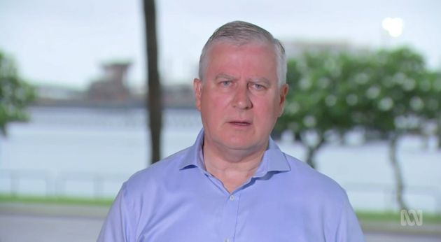 On Tuesday, Australian Deputy Prime Minister Michael McCormack stood by his comments comparing the US Capitol riots to last year's Black Lives Matter protests.