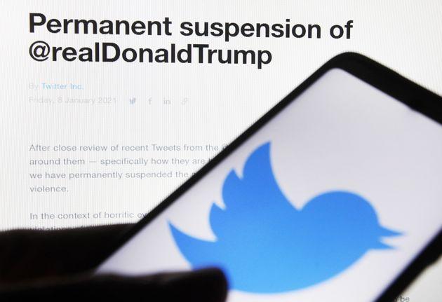 Suspensión de la cuenta de Twitter de Donald