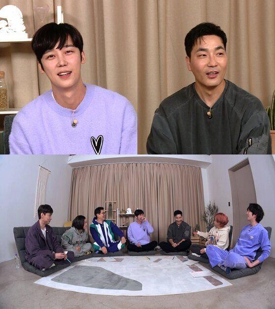 KBS 예능프로그램 '옥탑방의 문제아들'에 출연한 윤종훈과