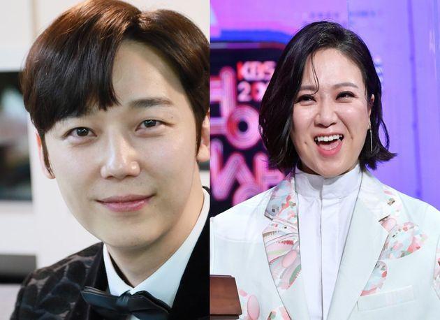 배우 윤종훈과 코미디언