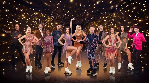 The cast of Dancing On Ice