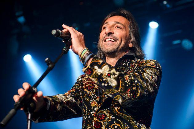 Antonio Carmona durante una actuación de Ketama en enero de