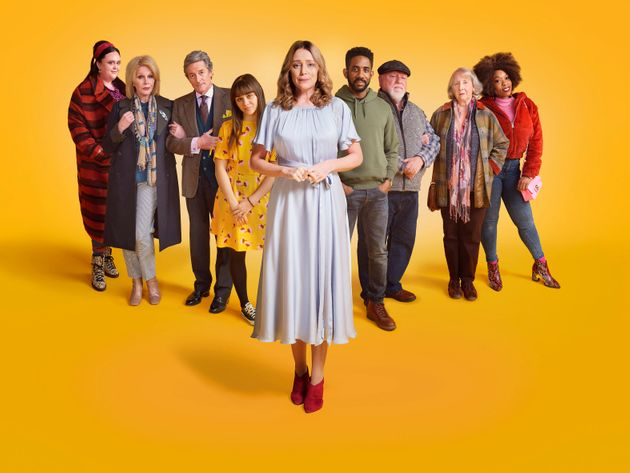 The cast of Finding