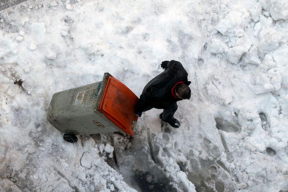 Στους -25°C έφθασε το θερμόμετρο στην Ισπανία - Εικόνες από τον «χιονιά του