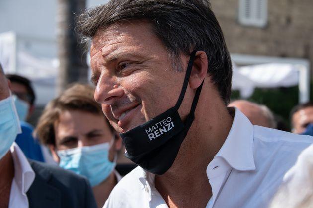 AVERSA, CASERTA, ITALY - 2020/09/17: The leader of