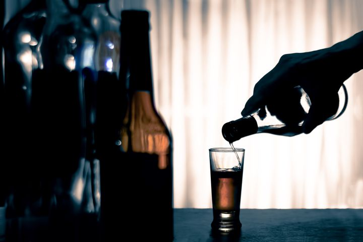 """""""As an alcoholic, I am always either moving toward a drink or moving away from one,"""" the author writes."""