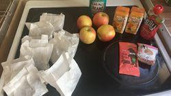 Marcus Rashford consterné par ces images de paniers repas pour les enfants