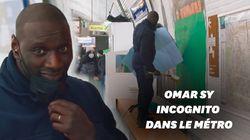 Omar Sy fait diversion comme Arsène Lupin dans le métro
