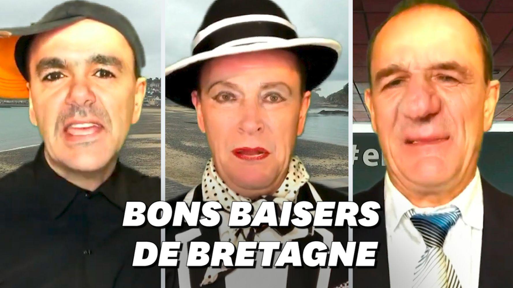 Les vœux peu conventionnels du maire d'Erquy dans les Côtes d'Armor