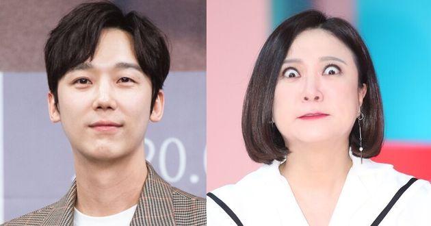 배우 윤종훈과 방송인