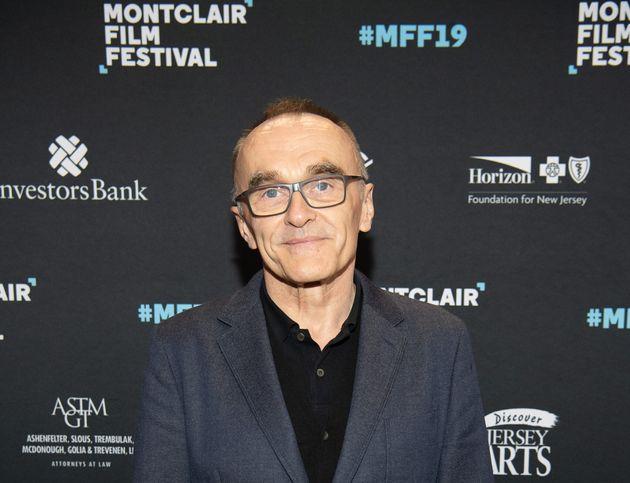 Le réalisateur britannique Danny Boyle au festival du film de Montclair le 4 mai