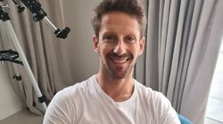 Un mois et demi après son accident, Romain Grosjean partage des photos de ses