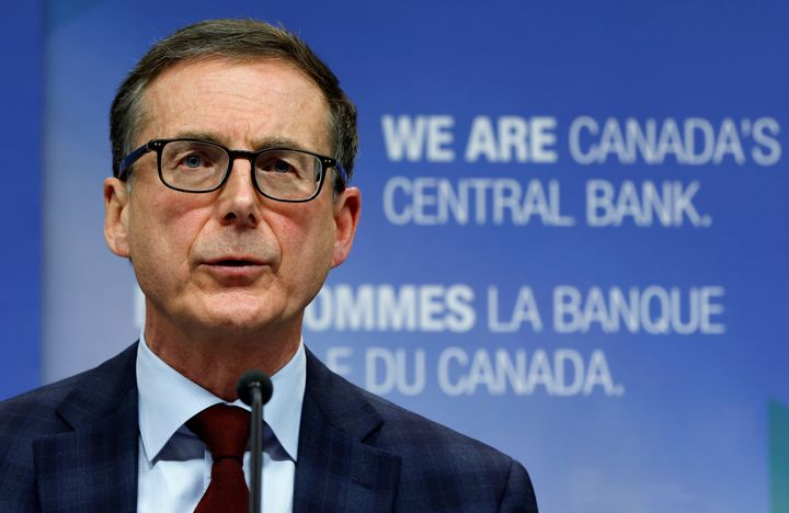 Bank of Canada Governor Tiff Macklem at a news conference in Ottawa, Dec. 15, 2020.