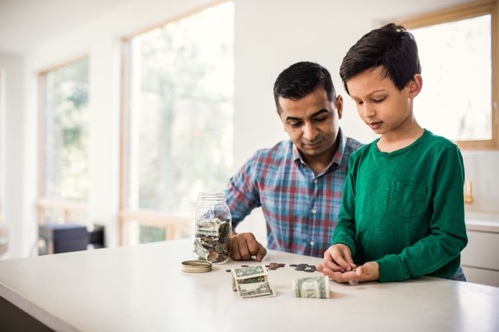 Parents can have a big impact on their children's relationship with money.