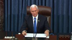 トランプ大統領の職務停止をペンス副大統領が拒否 憲法修正25条の発動を否定