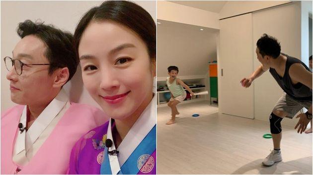 방송인 이휘재-문정원 부부 / 문정원 인스타그램