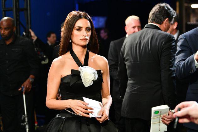Penélope Cruz durante la 92ª gala de los Oscar el 9 de febrero de