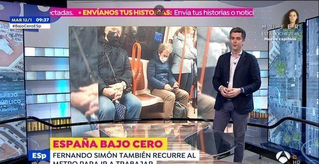 La foto de Simón, en 'Espejo