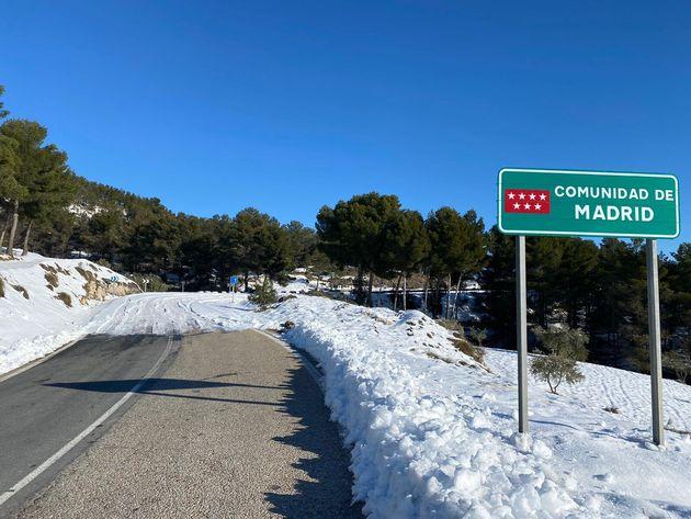 La frontera entre Madrid y