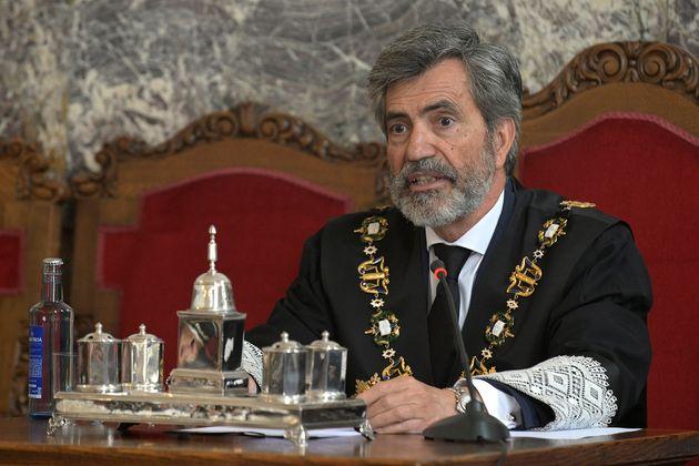El presidente del CGPJ, Carlos