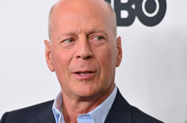 Bruce Willis en la premiere de 'Motherless Brooklyn' en octubre de