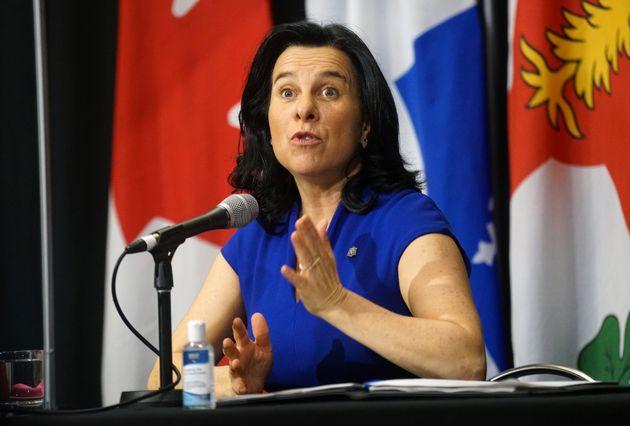 La mairesse de Montréal, Valérie Plante. (photo