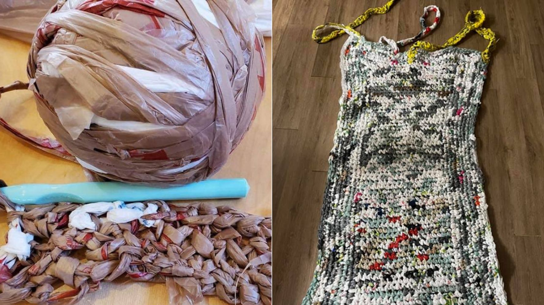 Canadians Are Turning Their Plastic Bags Into Sleeping Mats For The Homeless