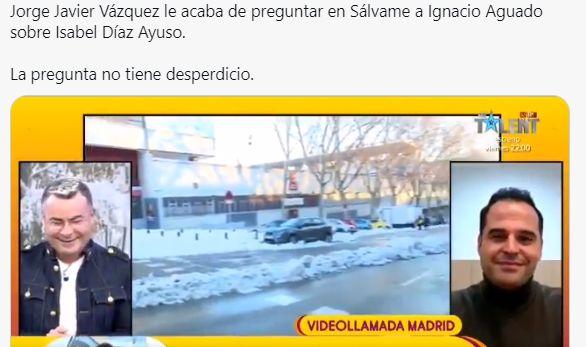 Jorge Javier y Aguado en