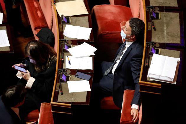 El senador italiano y ex primer ministro Matteo