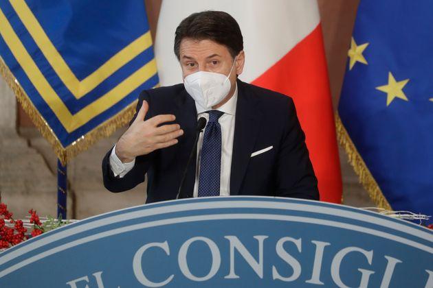Giuseppe Conte, ici à Rome en Italie, le 30 décembre