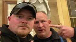 Feds Charge 2 Trump-Loving Cops Who Took A Selfie During Capitol