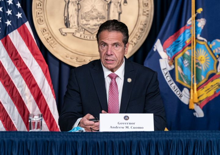 New York Gov. Andrew Cuomo (D) earned fame for his press conferences on the coronavirus. He is resisting calls to raise taxes