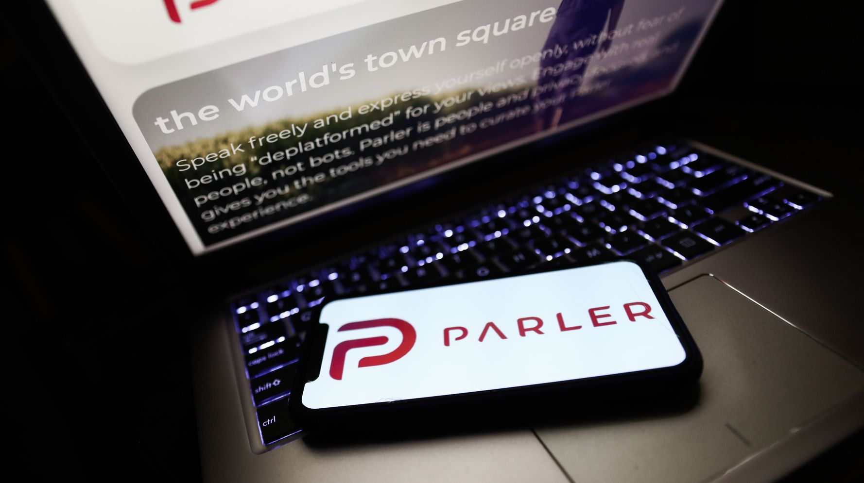 Parler CEO Says App, Favored By Trump Loyalists, May Not Return