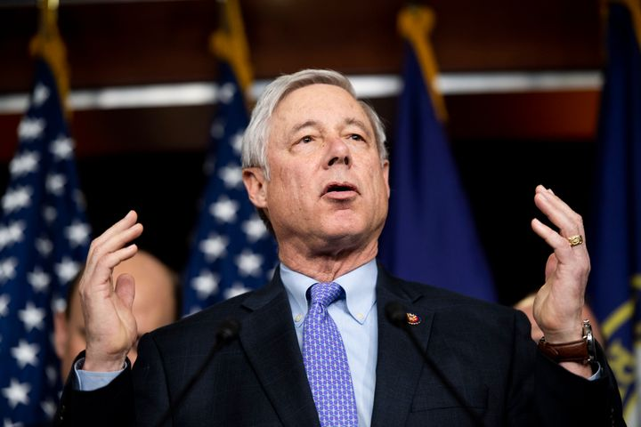 """It's time to say enough is enough"" said Representative Fred Upton (R-Mich).  & nbsp;"