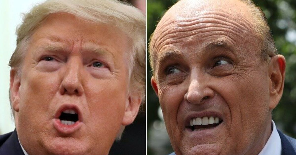 Report: 'Isolated And Angry' Trump Refuses To Pay Rudy Giuliani For Legal Work