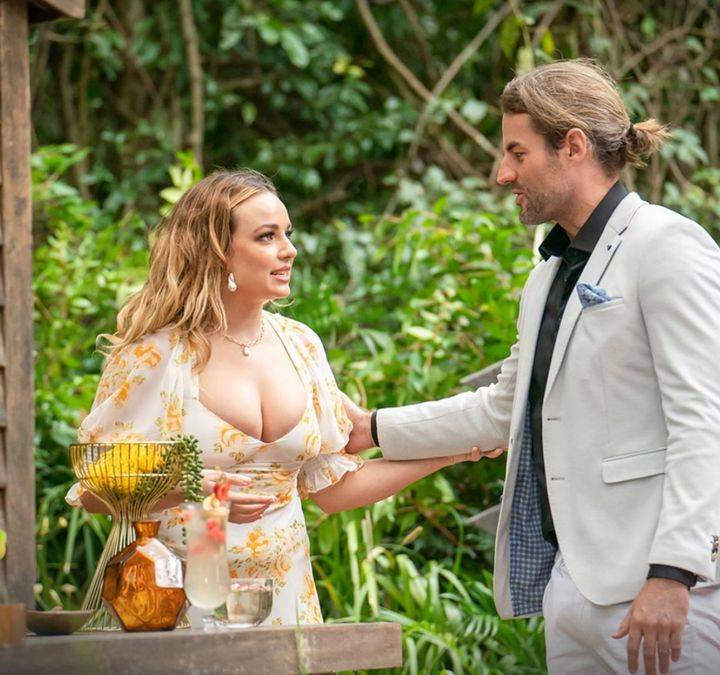 Abbie Chatfield and Ash Williams on 'I'm A Celebrity... Get Me Out Of Here!'